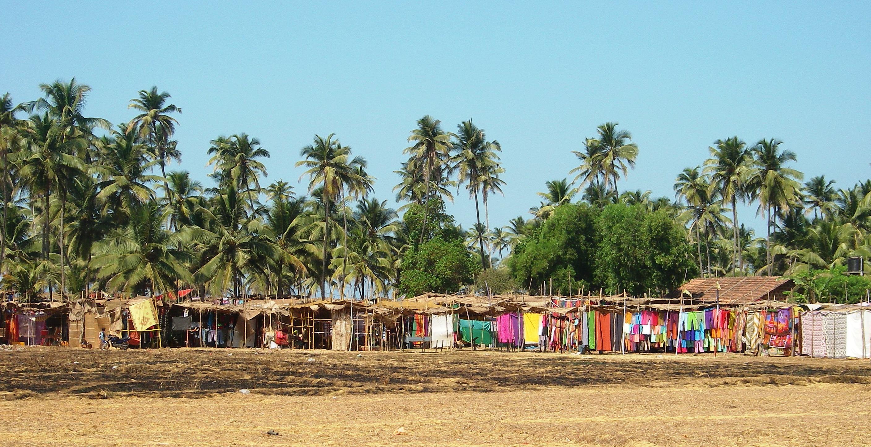 Индия гоа анджуна фото пляжей и набережной
