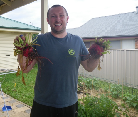 Home-grown food