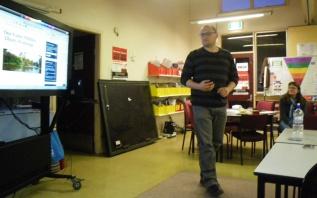 Friends of Willow Park presentation, September 2012.