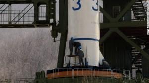 Unha-3 rocket (CNN)