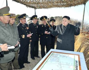 Kim Jong Un inspects recent military drills