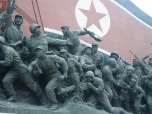 Revolutionary monument at Mansudae.