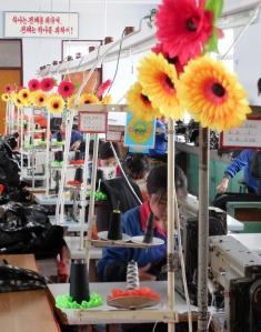 Textiles factory in Rason special economic zone.
