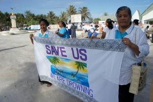A plea from residents of Kiribati