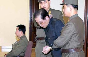 Jang Song Taek, the uncle of North Korean leader Kim Jong-un, was summarily executed by the regime. EPA/Rodong Sinmun