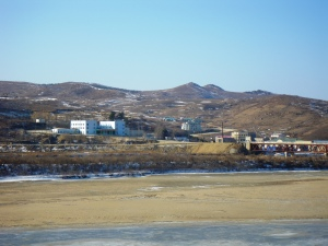 The Quanhe-Wonjong border crossing across the Tumen River between China and the DPRK