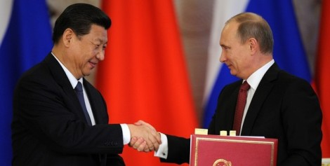Xi Jinping and Vladmiir Putin