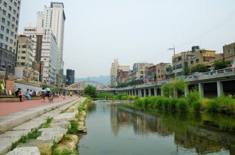 10_Down by the Anyangcheong creek in Sillim