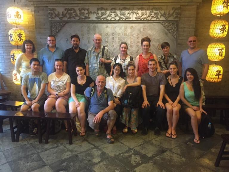 China study tour participants