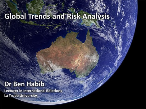 Ben Habib_SEV Workshop_Global Events and Risk Analysis_Title Slide