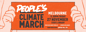 People's Climate March, Melbourne