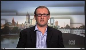 Ben interviewed on 'The World' on ABC 24, 2013.