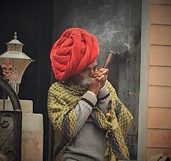 Smoking pipes. Photo: Helen Bucknell.