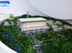 3D model of the Sanfeng Industries waste-to-energy transfer plant outside Chongqing.