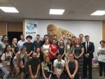 Tour group at EAAF Flyway Partnership.