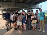 Tour group at Dumulmeori.