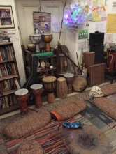 Our tools for the drumming circle to come.
