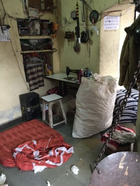 The old cotton weaver's shop.