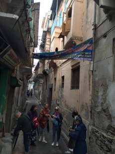 CERES Global group navigating the old city's alleyways.