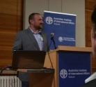 Ben presenting at AIIA-Vic (22 May 2018).